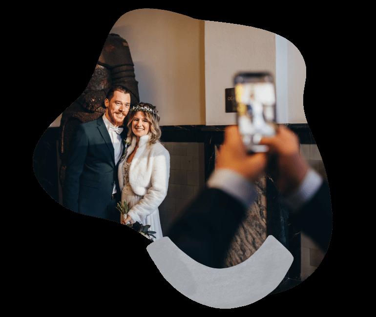 Foto-Upload-Hochzeit