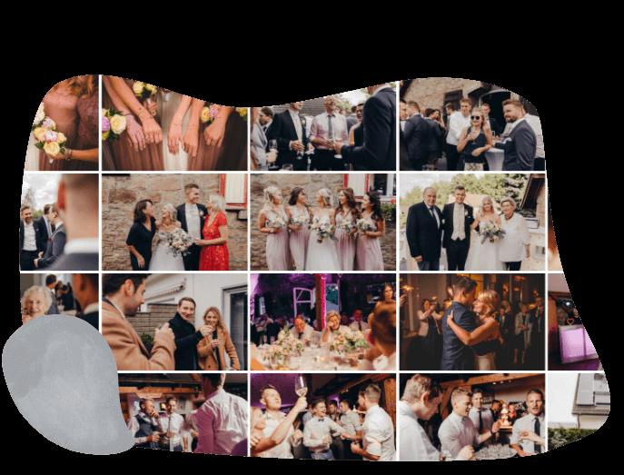 Hochzeits-Fotoalbum