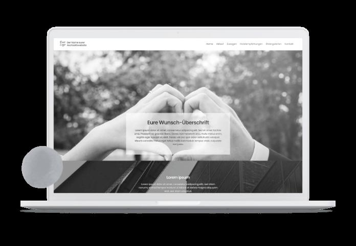 Hochzeits-Website